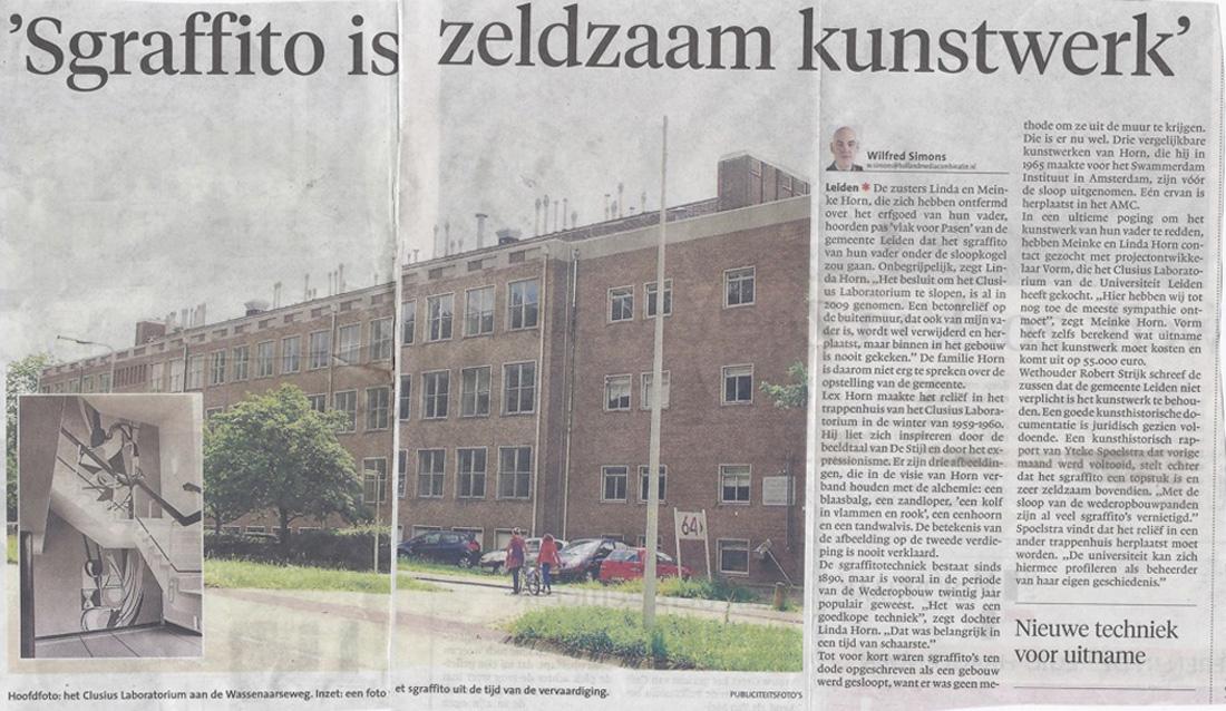 Artikel Leidsch Dagblad