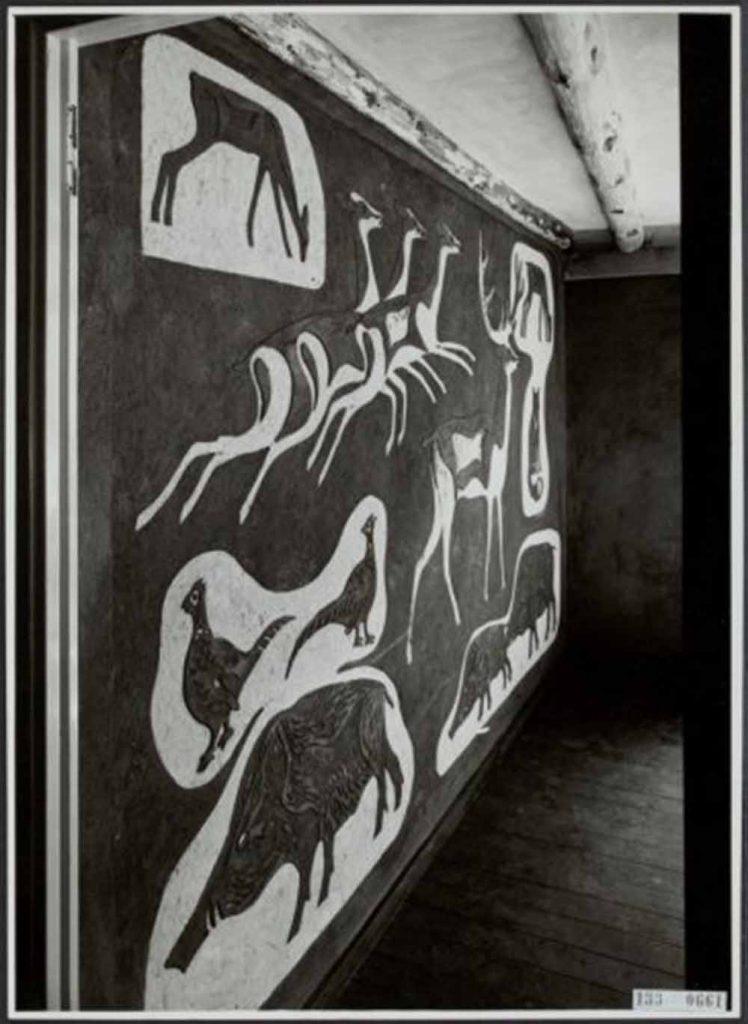 Lex Horn, de Koperen Kop de Hoge Veluwe ca 1948 (vernietigd)