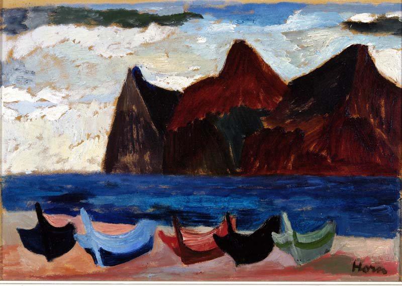 Lex Horn, Collioure, 1947