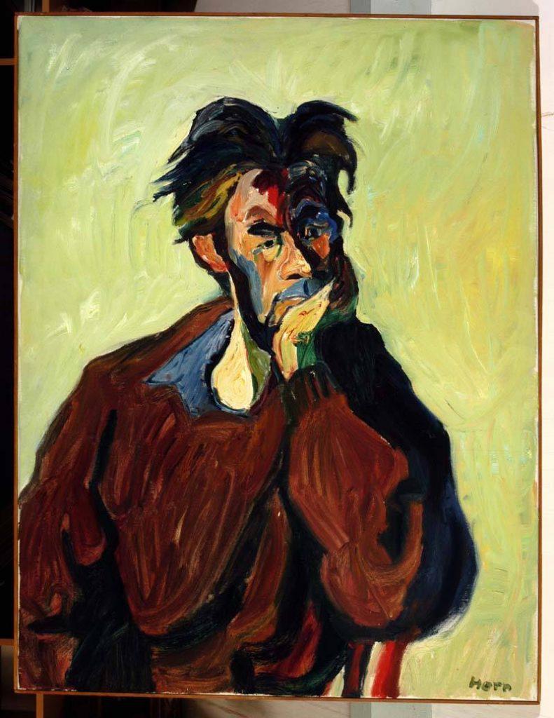 Lex Horn portret van Bataaf Westerhuis 1962