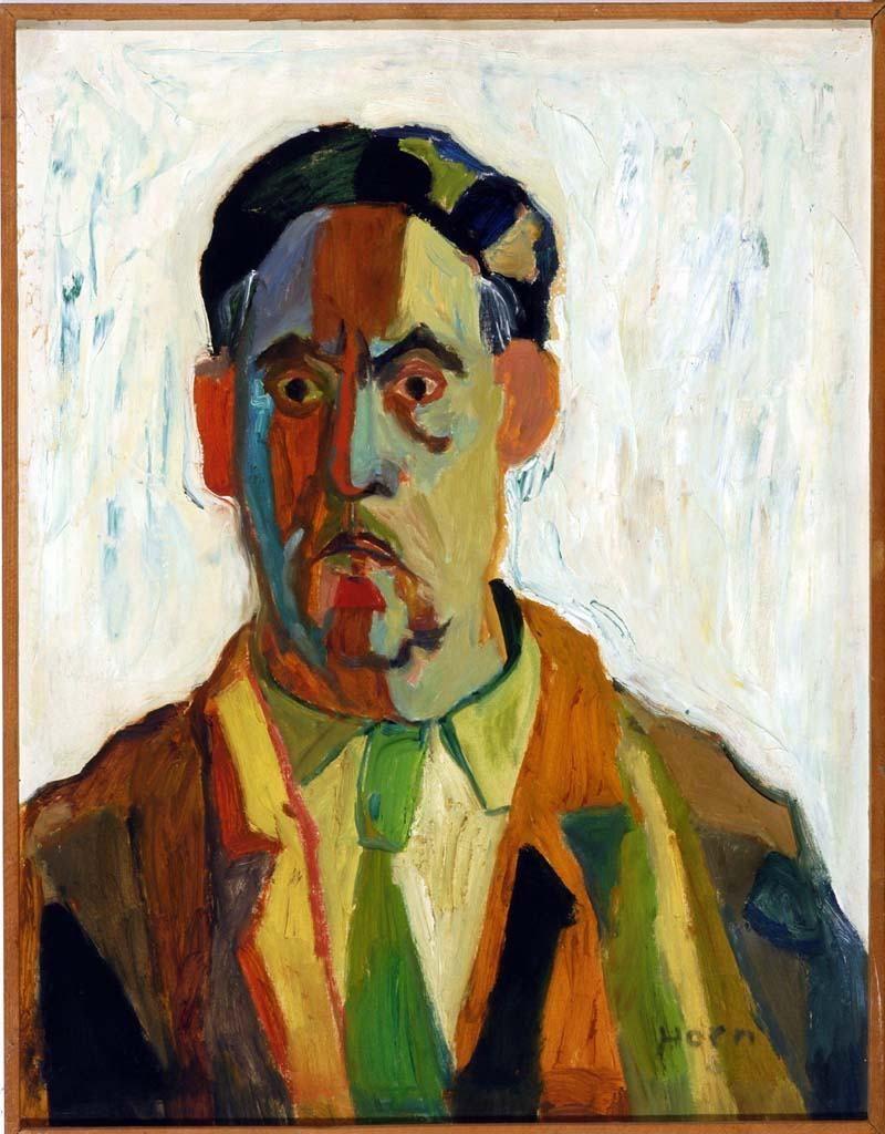 Lex Horn, portret van Han Wezelaar, 1958