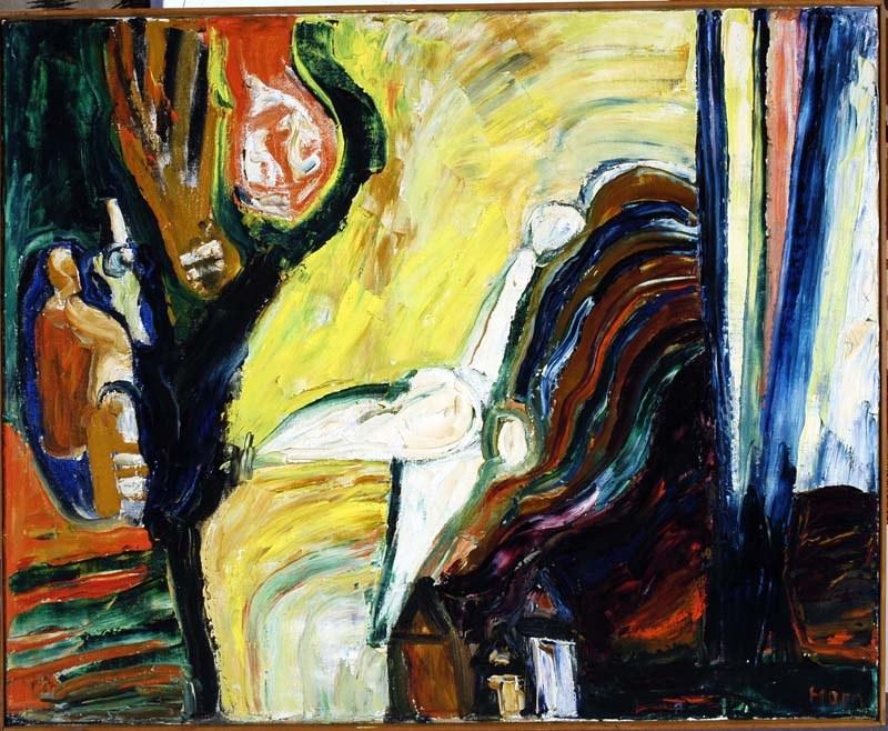 Lex Horn, Verschijning, 1966
