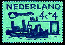 Postzegel 4 cent