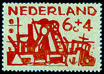Postzegel 6 cent