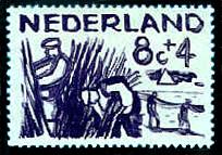 Postzegel 8 cent