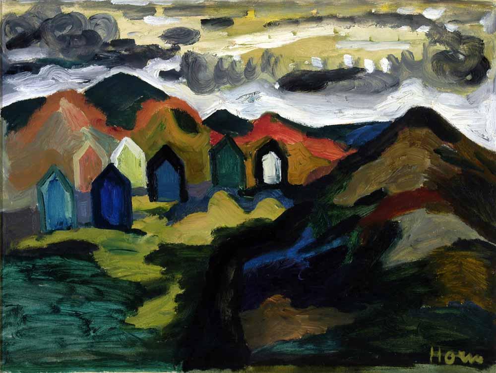 Duinen bij Egmond ca 1955