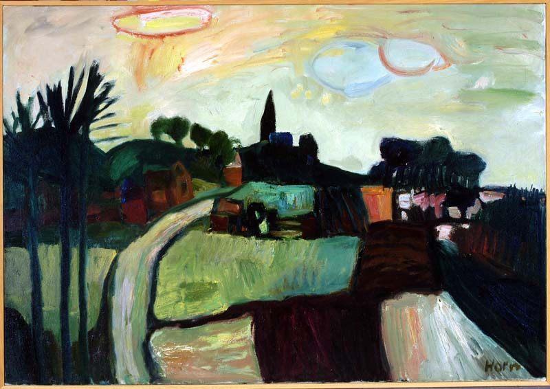 Lex Horn, Oud-Beijerland ca 1960