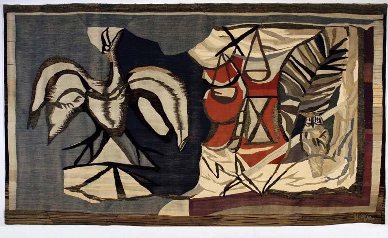 Phoenix, wandtapijt Provinciehuis Gelderland, 1953 (Het Paapje)