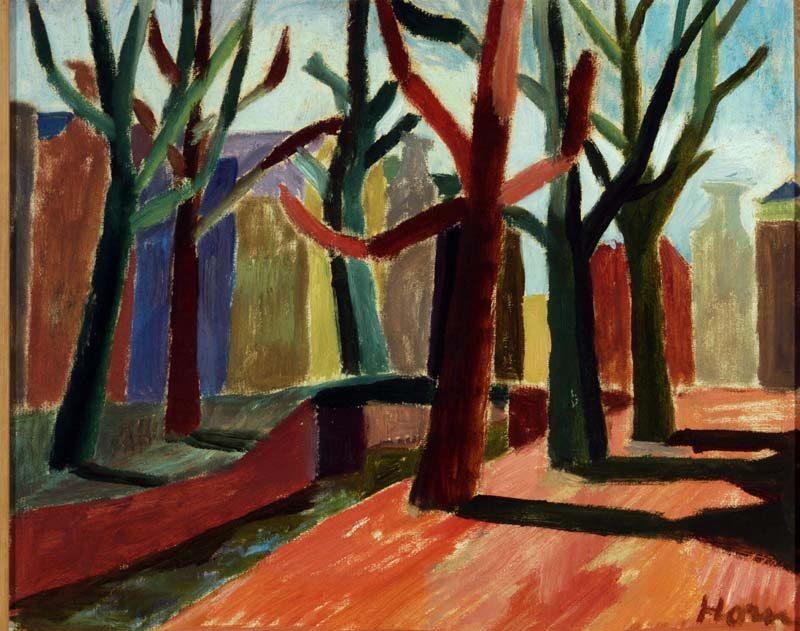 Lex Horn, Rechtboomsloot, 1947