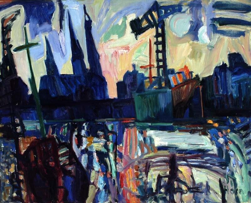 Lex Horn, Westerdak, 1960